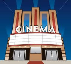 A movie theater.