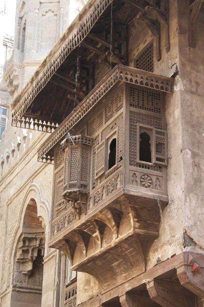 Photograph: ornate balcony