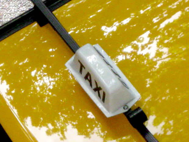 Photograph: top of taxi cab