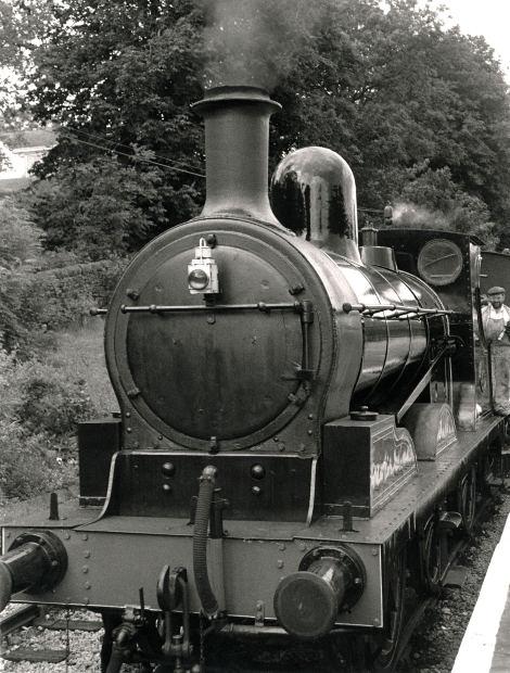 Photograph: Steam engine